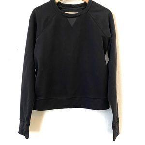 Lululemon Black Crewneck Pullover Sweatshirt 6